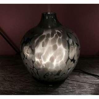 GLASS ULTRASONIC AROMA DIFFUSER - BLACK LEOPARD