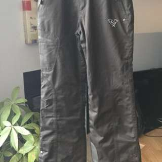 Women's Black Snowpants (size S) - PRACTICALLY NEW