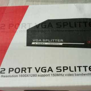 2 ports VGA outputs