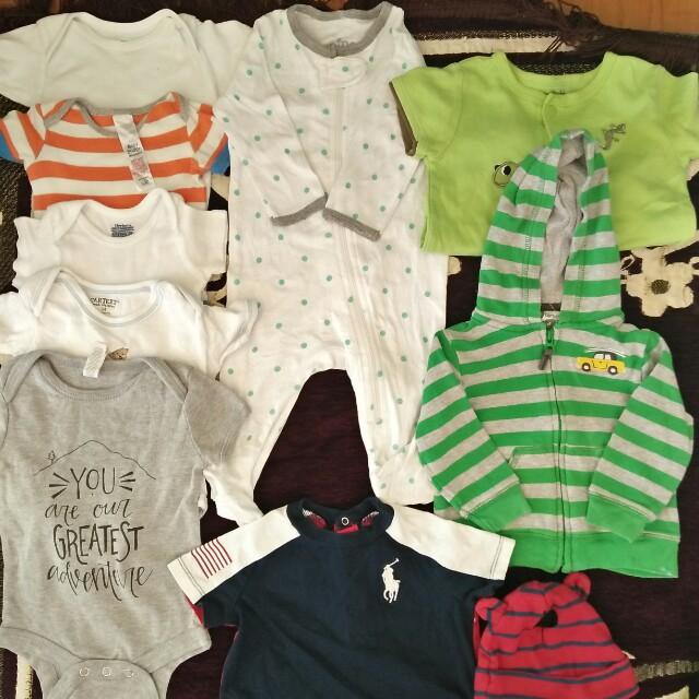 0-6 months baby boy take all