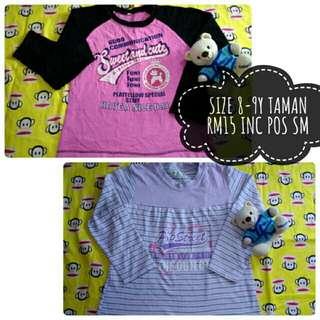 T Shirt 8-9y