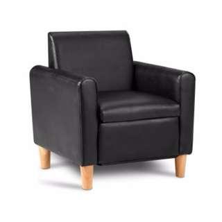 Kids Single Chair- Black SKU: KID-CHAIR-S1-BK
