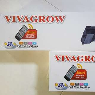 REMOTE vivagrow tank top fish tank led light which simulate natural light!!!c/w 6 months warranty!!! Dim at night and brighten in the morning!!!