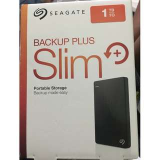 "Seagate 1TB external hard disk drive ""BRAND NEW"" totally sealed"