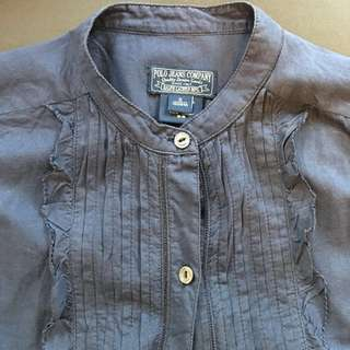RRL Ralph Lauren Polo shirt 麻質蔴質恤衫