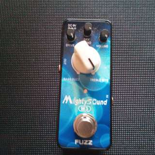 Mighty Sound Fuzz Pedal Guitar effects
