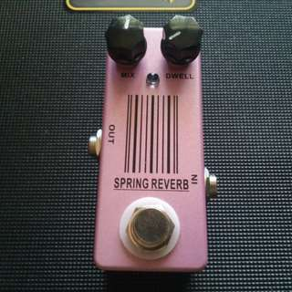 MOSKY Spring Reverb Guitar effects