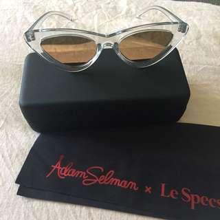 Le Specs x Adam Selman Cat-eye Sunglasses