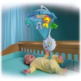 Fisher Price Precious Planet 2 in 1 Mobile Projection *For Baby Cribs*