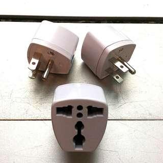 轉換插頭 plug 三個 travel adapter