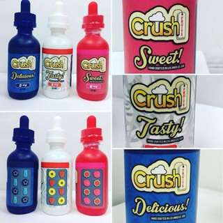 Crush's Fruit E Liquid From USA