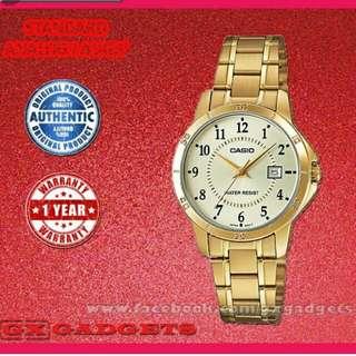 💏6折全新行貨卡西歐防女情侶行針鋼錶-40% Off Brand New Original Casio Sweetheart Water Resistance  Analog Metal Watch