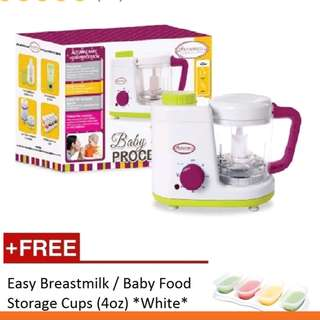 Autumnz 2-1 baby food processor(steam&blend)