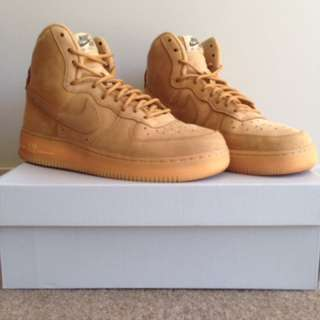 Nike Air Force 1 Flax High