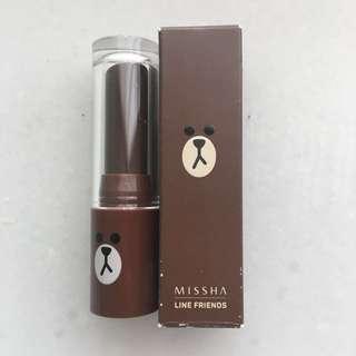Missha X Line M Matt Lip Rouge Spf17 MBR01 Maple Latte