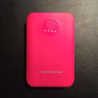 Pink Mobile Battery Pack 8800 mAh
