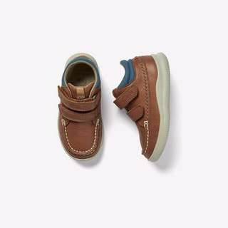 💯Original New CLARKS Genuine Leather Kids BOOTS
