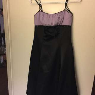 Purple Dress for Graduation