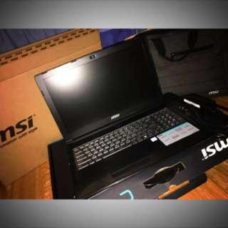 🚚 微星msi 電競筆電Notebook 15吋 Nvidia940MX 附發票