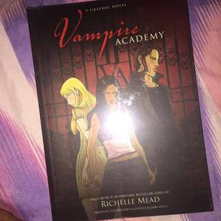 Vampire Academy with cover
