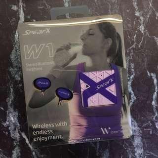 SpearX W1運動防水藍芽耳機