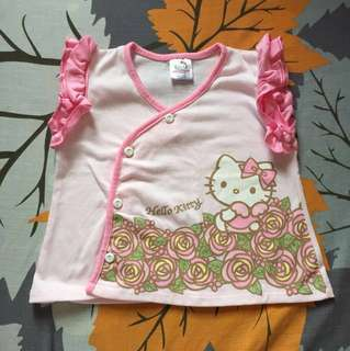 Hello Kitty blouse (3-6m)