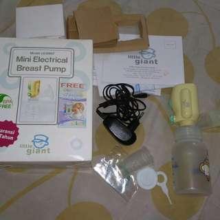 Mini electrical breast pump