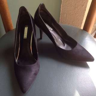 Vincci Pointed Toe High Heels Black Size 5.5