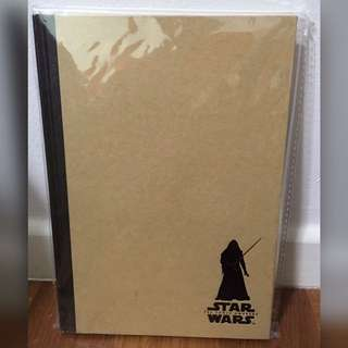 BRAND NEW Star Wars Notebook