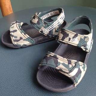 Authentic Adidas Sandals Camo Size 6K
