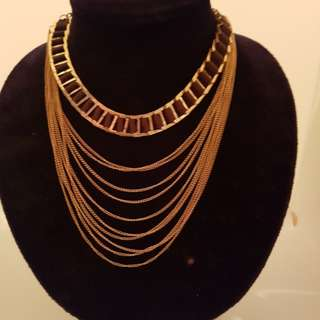 Brand new multi layer necklace