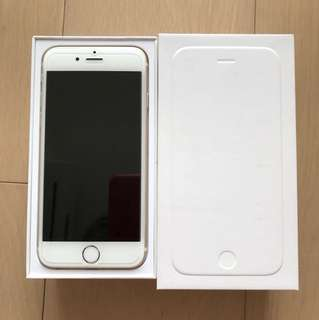 iPhone 6 金 16GB [手機only]