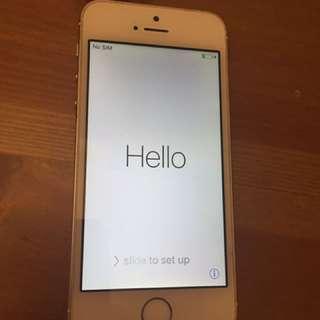 iPhone 5s Rose Gold 16GB