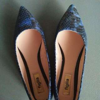 Figlia Blue shoes