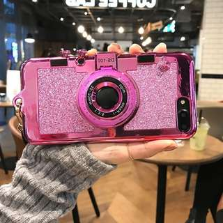 iPhone 7  3D Camera Soft Protector Phone Case Cover