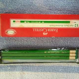 unused Faber castell pencils 12 + 3 pcs