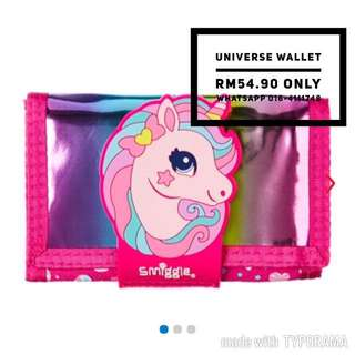Smiggle universe wallet