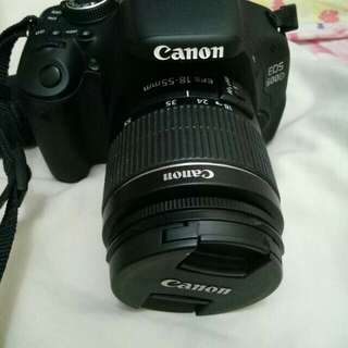 DSLR CANON CAMERA EOS 600D KIT