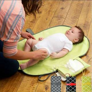 New wallet travel foldable portable diaper changing pad clutch mat baby nappy bag