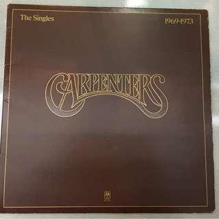 Carpenters, The Singles 1969-1973, Vinyl LP, A&M Records – SP 3601, 1973, USA