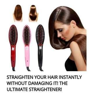 Hair Straightener brush *1 left*