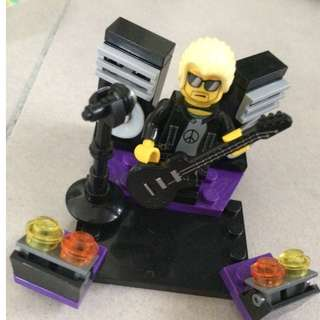 Lego like/copy rocker minifig