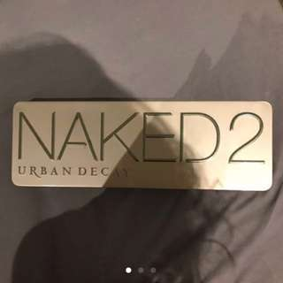 AUTHENTIC NAKED 2 PALETTE WITH RECEIPT