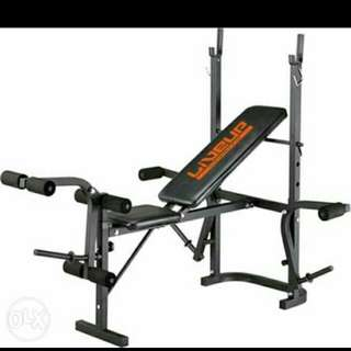 5 in 1 bench press live up
