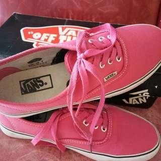 Vans Authentic Warna Pink