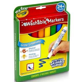Crayola: My First Crayola Washable Markers 8 (811324)