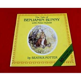 The Tale of Benjamin Bunny With Peter Rabbit by Beatrix Potter