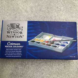 Winsor & newton sketchers' water colours