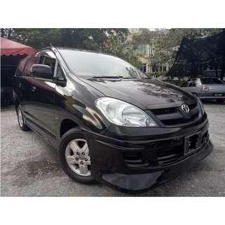 Toyota Innova 2.0 E (A) (Confirmed 2005)