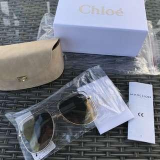 t Chloe 太陽眼鏡 全新墨鏡  SHE Ella 陳嘉樺 孫芸芸 機場御用款  Chloe 太陽眼鏡 商品型號:CE126-733